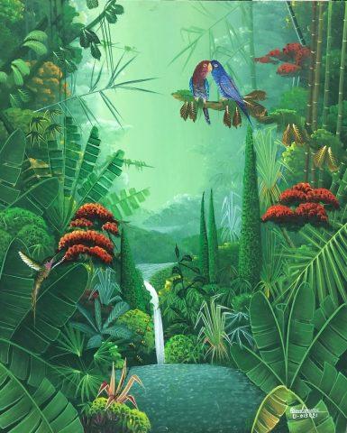 Tropical jungle / bonhommej193